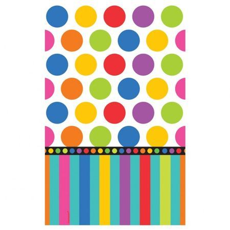 Nappe Papier Multicolore Happy Birthday