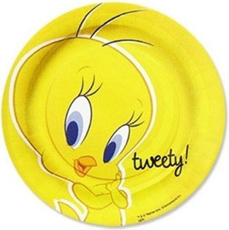 10 Assiettes (18Cm) - Tweety© Ou Titi