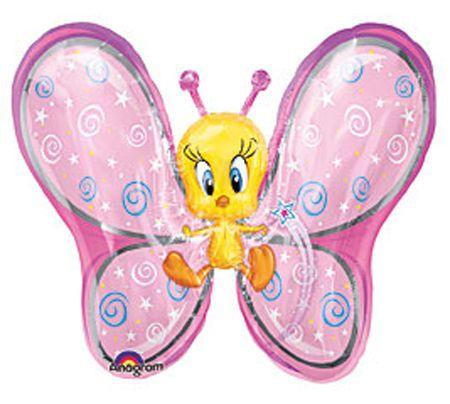Ballon Aluminium Titi Papillon