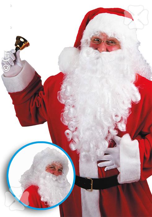 Barbe et perruque Père Noel luxe