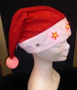 Bonnet Père Noël Lumineux