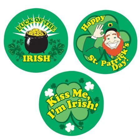 3 Badges St Patrick