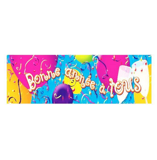 BANDEROLE BONNE ANNEE