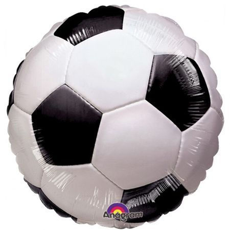 Ballon Football Aluminium