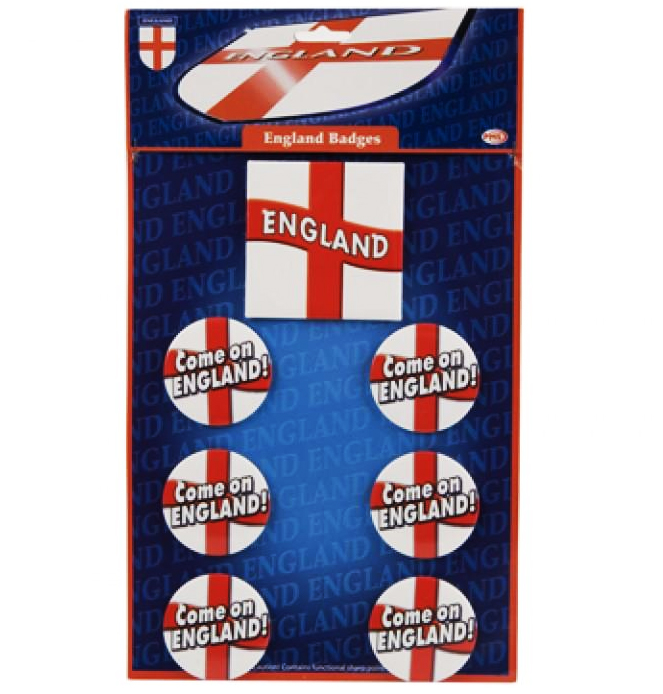 7 Badges anglais