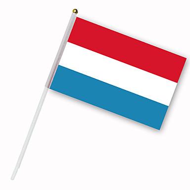 Drapeau des Pays-Bas sur tige