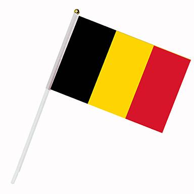 Drapeau de la Belgique sur tige