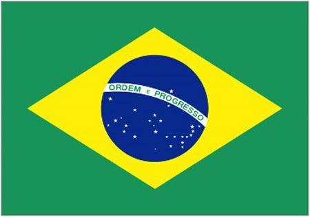 Drapeau Brésilien 90Cm X 150Cm