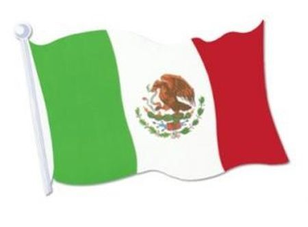 Drapeau Mexicain 90Cm X 150Cm