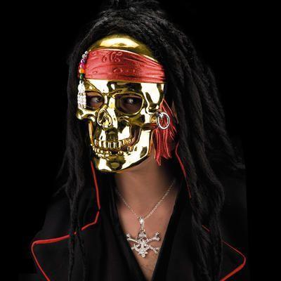 Masque de Pirate Doré