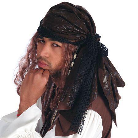 Bandana de Pirate Marron