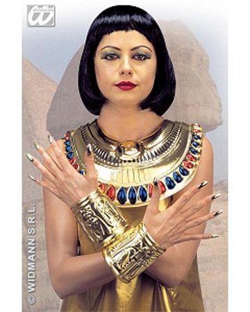 Col En Plastique Egyptien