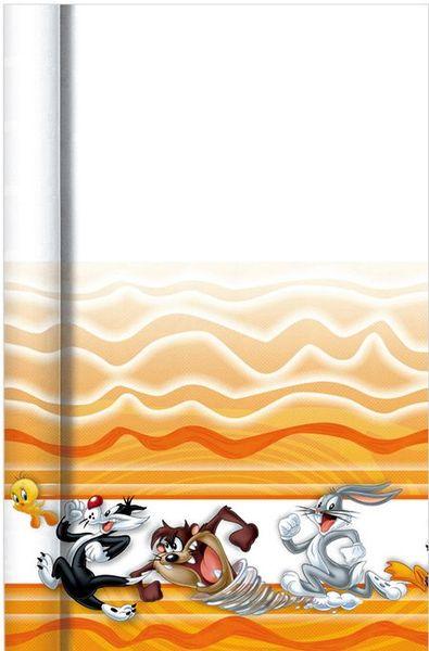 1 Nappe Papier - Pliée\'(120Cmx180Cm) - Looney Tunes© :