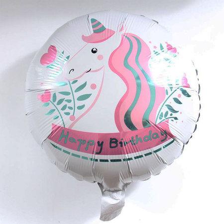 Ballon licorne blanche