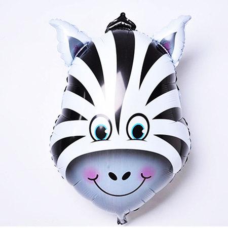 Ballon tête de zèbre