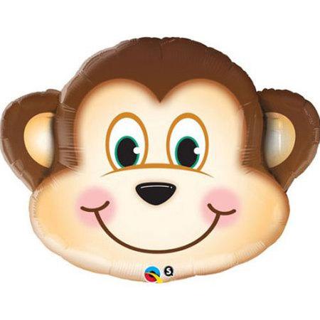 Ballon tête de singe
