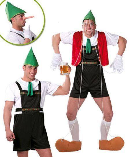 Déguisement de Pinocchio Ou Tyrolien