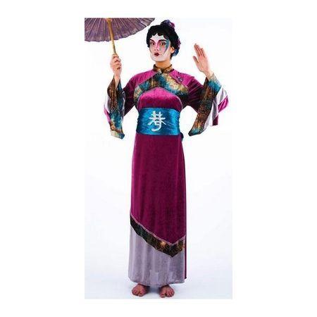 Déguisement de Geisha Lilas Et Bleue
