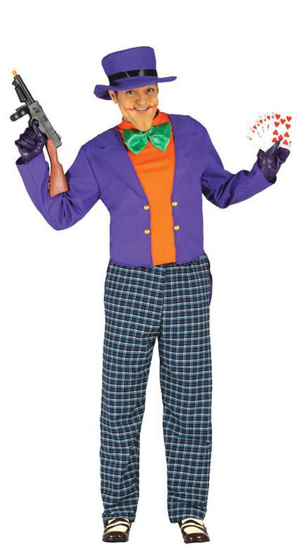 Déguisement de Joker fou