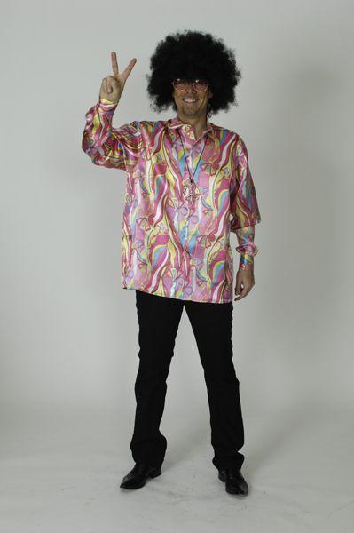 Chemise Hippie Fuchsia
