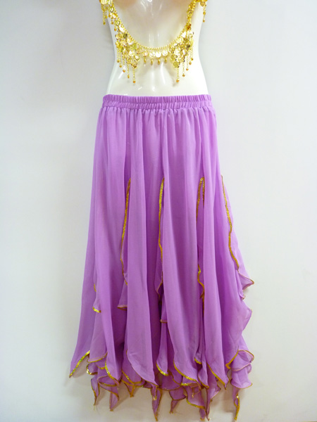 Jupe Bollywood lilas