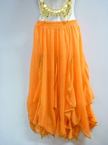 Jupe Bollywood orange