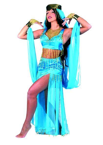 Déguisement Danseuse Orientale Bleue