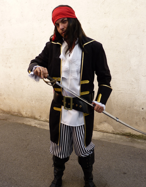 Déguisement de pirate