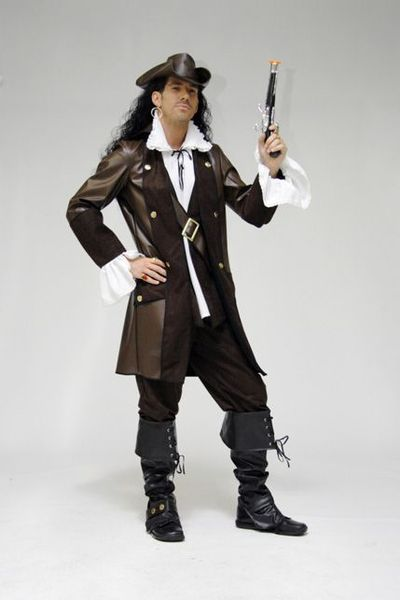 Costume Luxe de Pirate Steampunk