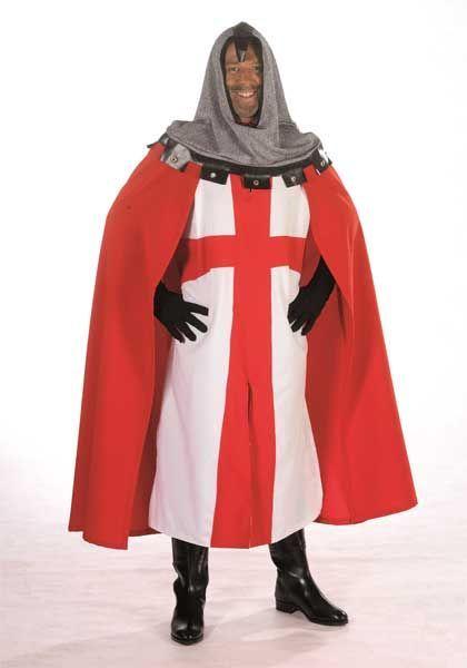 Déguisement de Chevalier des Croisades Avec Cape