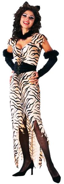 Déguisement de tigresse