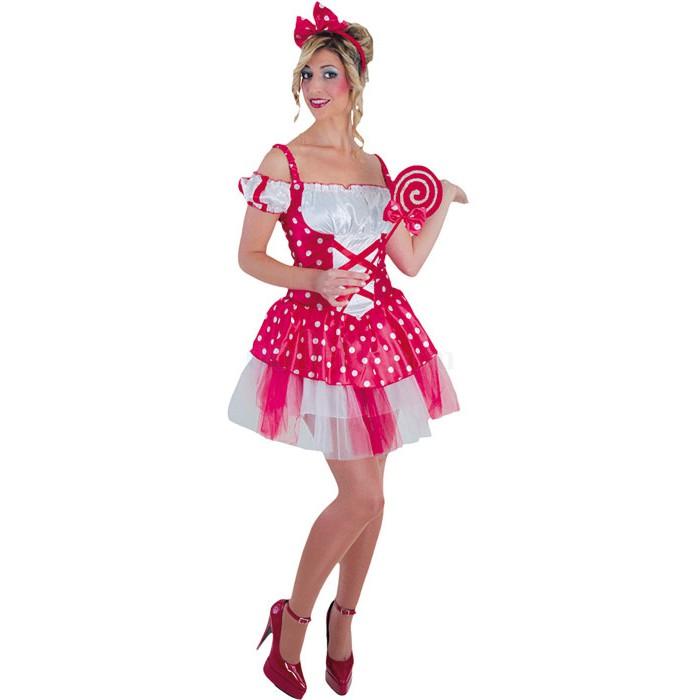 Déguisement Miss Bonbon ou Minnie