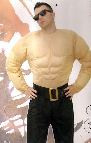 Déguisement de Rambo ou Mr Muscle