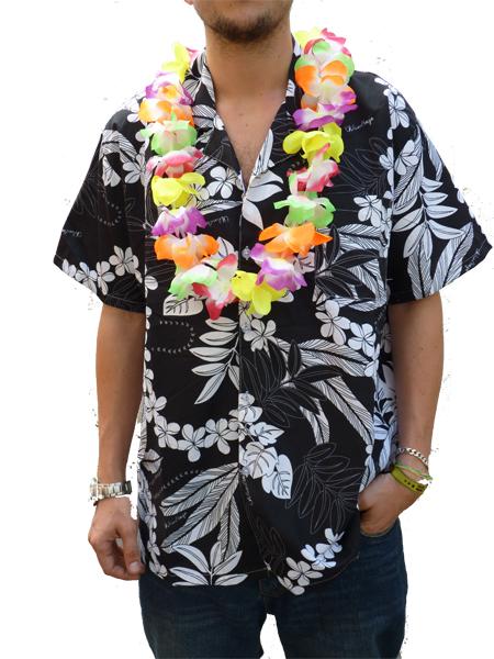 chemise-hawaienne-noire-z