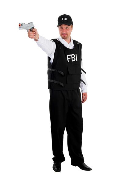 Déguisement Agent FBI adulte