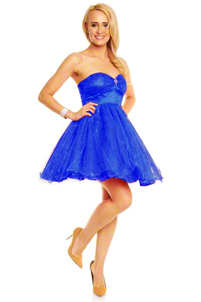 robe-tutu-bleu-roy-z