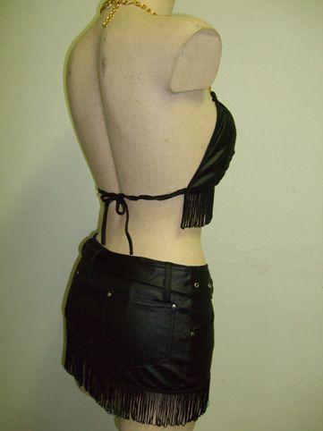 Déguisement 2 Pièces sexy noir