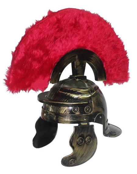 Casque Romain centurion vieil or