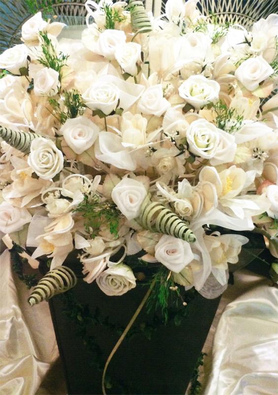 Composition dragées bouquet