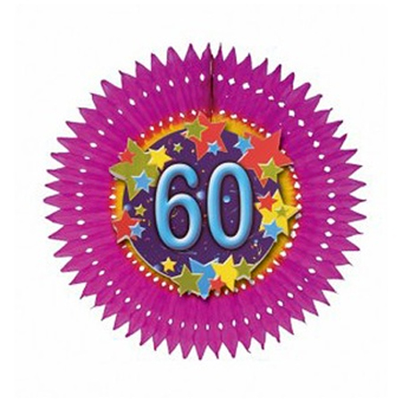 Eventail anniversaire âge 60