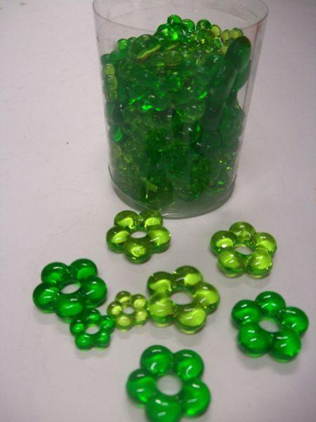 Décoration de Tables Fleurs Vertes