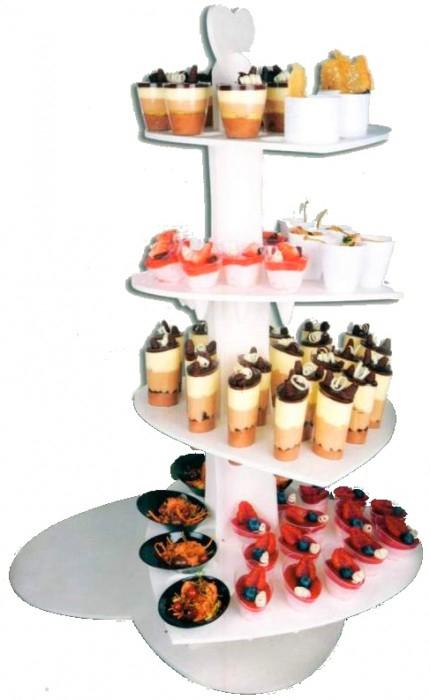 Stand pour gâteaux ou verrines