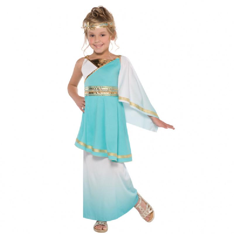 Déguisement de déesse grecque enfant