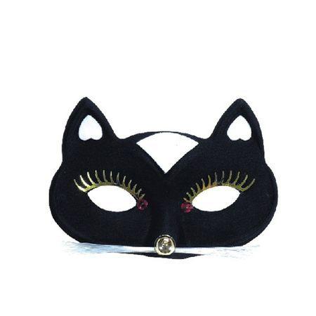 Loup Masque De Chat Noir