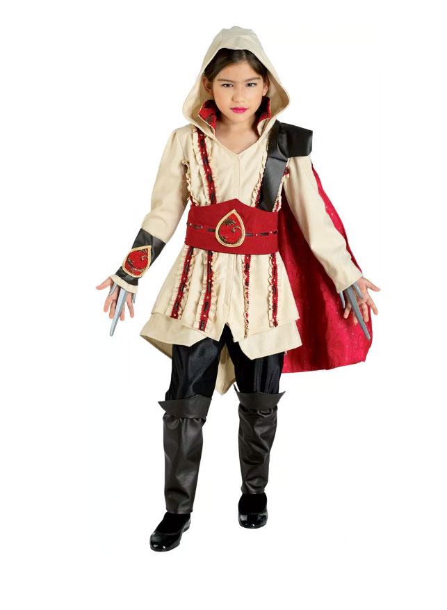 Déguisement assassin creed enfant fille