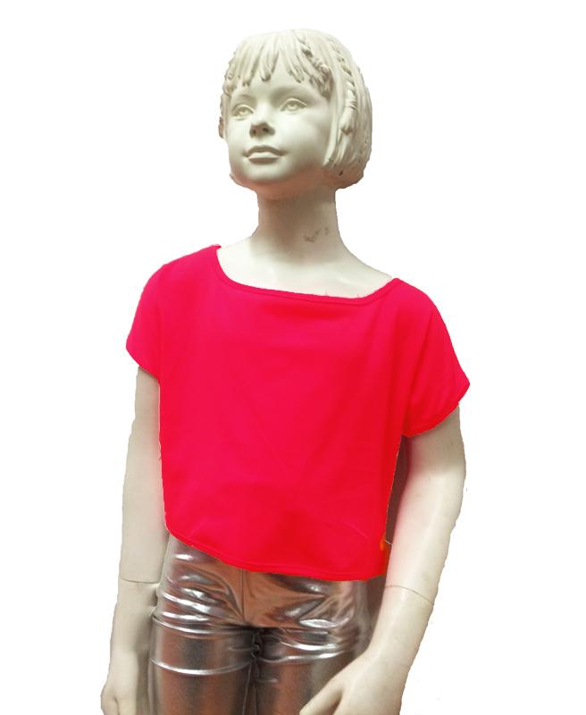 Brassière jazz enfant rouge