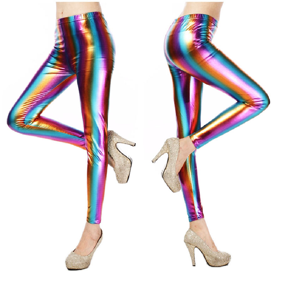 Legging arc en ciel