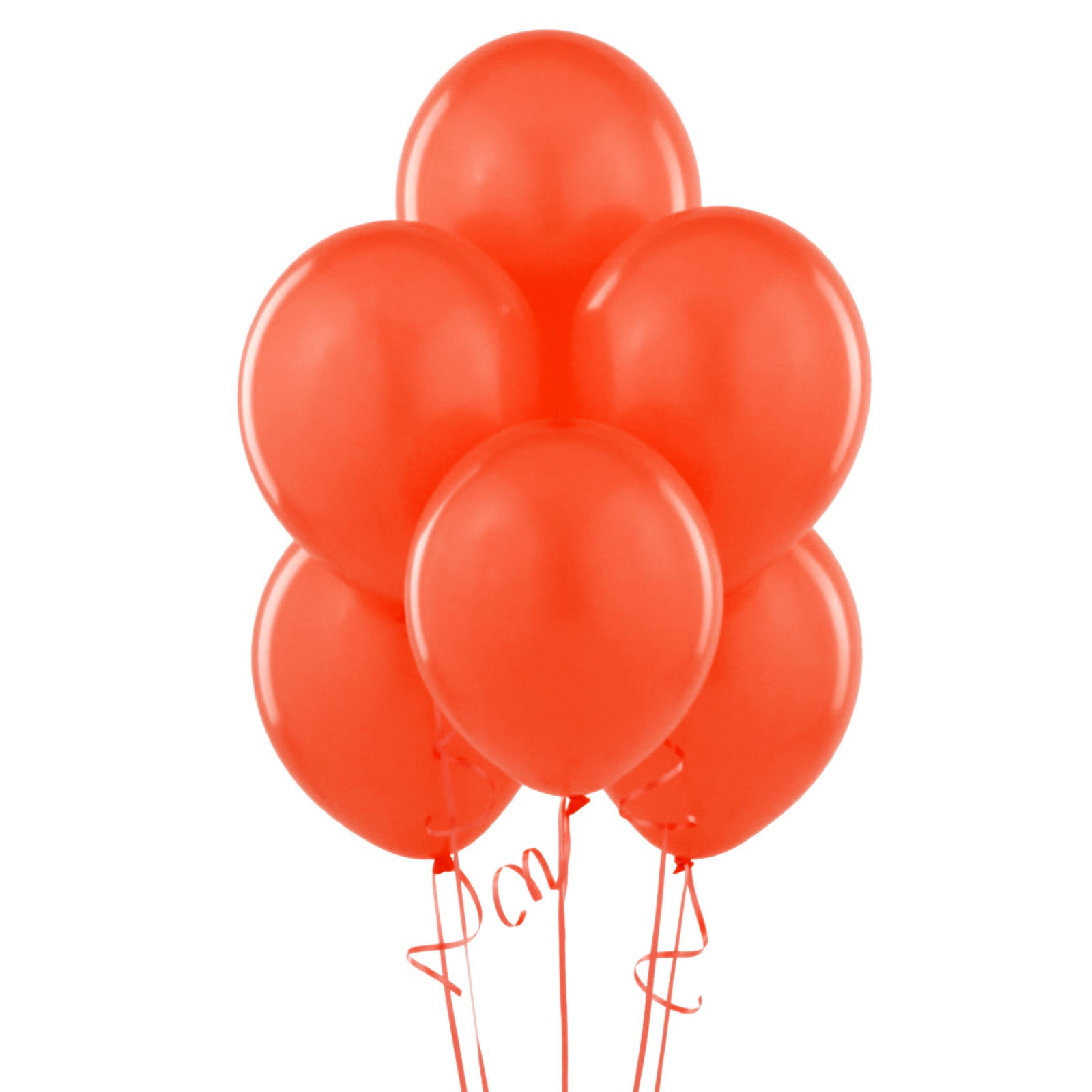 12 ballons latex rouges