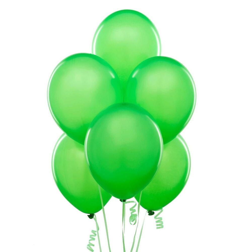 12 ballons latex vert