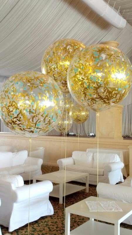 ballon geant transparent
